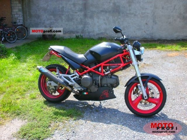 ducati m600   Ducati Monster M600 Dark 1999 Specs and Photos