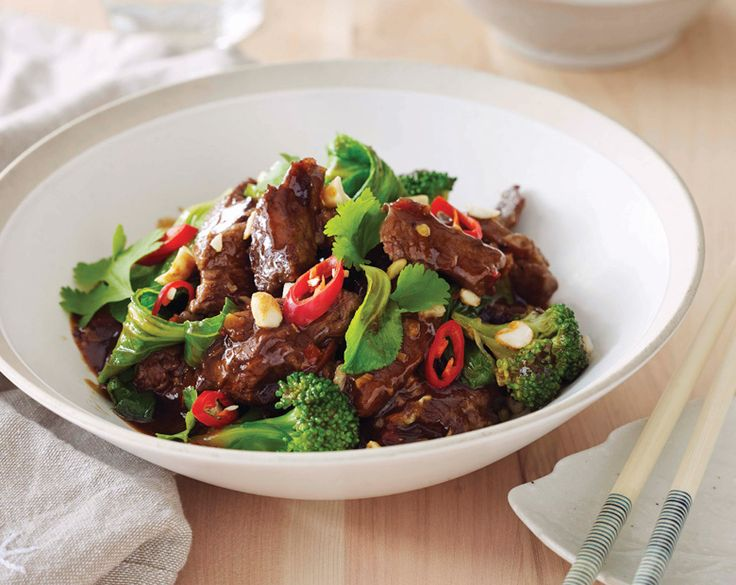 Asian Inspired Beef with Greens Recipe | beef   lamb new zealand inc