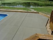 No pool is complete without a great looking deck around it!