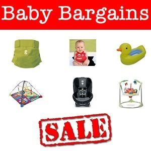 Great deals on cloth diapers, duck bath tub, and more