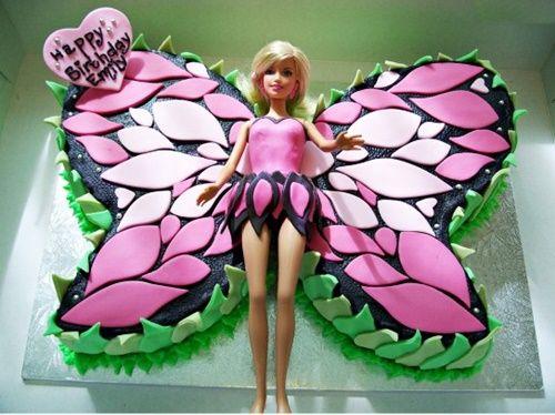 Fab Art DIY krásny motýľ Cake3