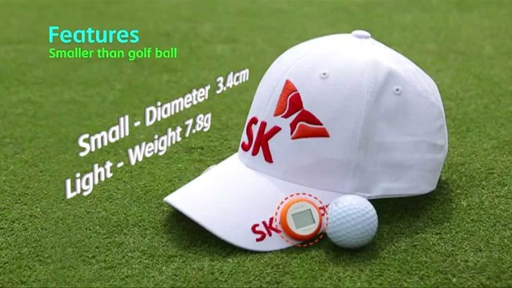 Smart Golf displays Carry Distance, Uneven Lies, Remaining Distance.