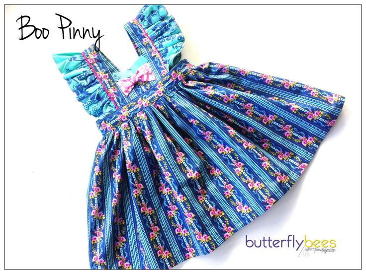 Boo Pinny - Custom Order by Butterflybees on Etsy