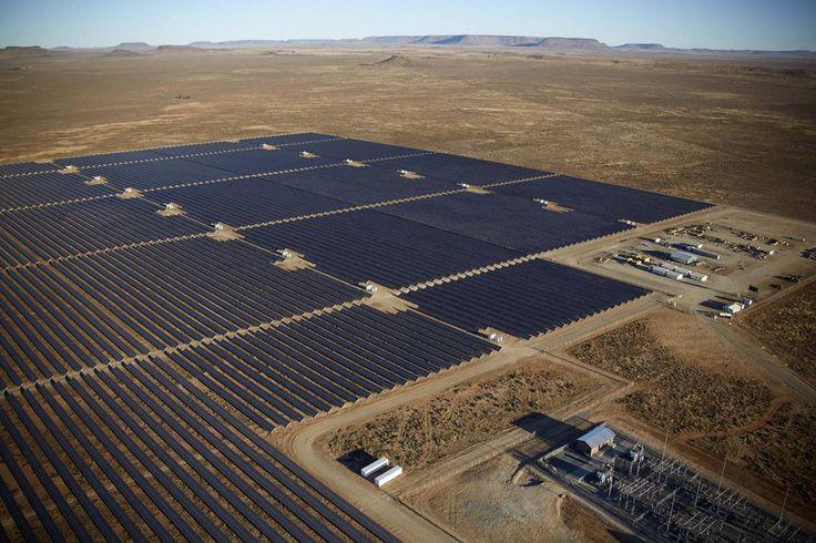 NORTHERN CAPE, SØR-AFRIKA (Aftenposten): På fem år har solkraft utkonkurrert den skitne kullkraften i Sør-Afrika på pris - og et lite, norsk selskap har slått seg opp som en av landets største solkraftaktører.
