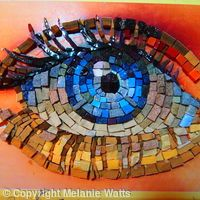 mosaic art eye - Google Search