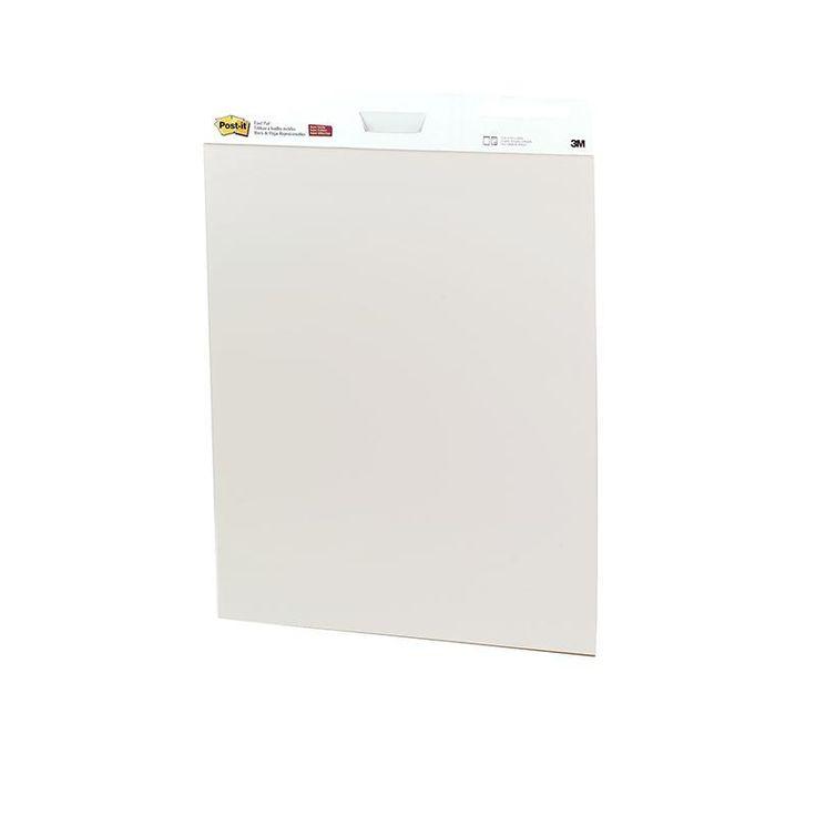 Post-it Self-stick Easel Pads 2-pk White