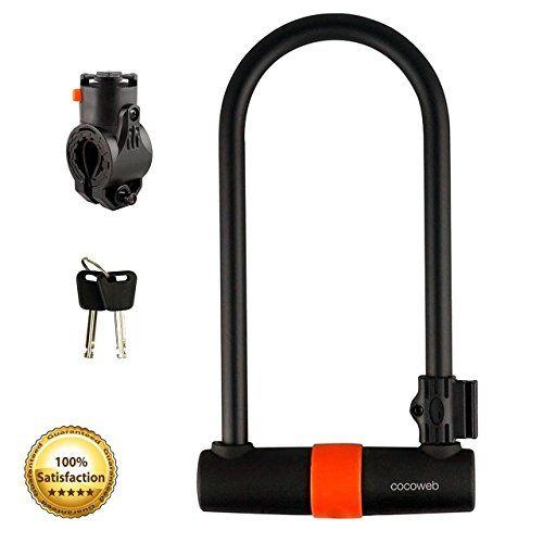 E-Lock Titan- 16mm Alarmed U Lock | Bike Lock