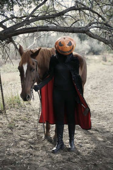 Awesome headless horseman costume