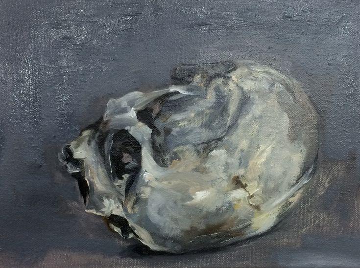 Taken 30 x 40 cm oil paint on linnen, P. Legeland