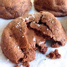 Nutella Sea Salt Stuffies: King Arthur Flour