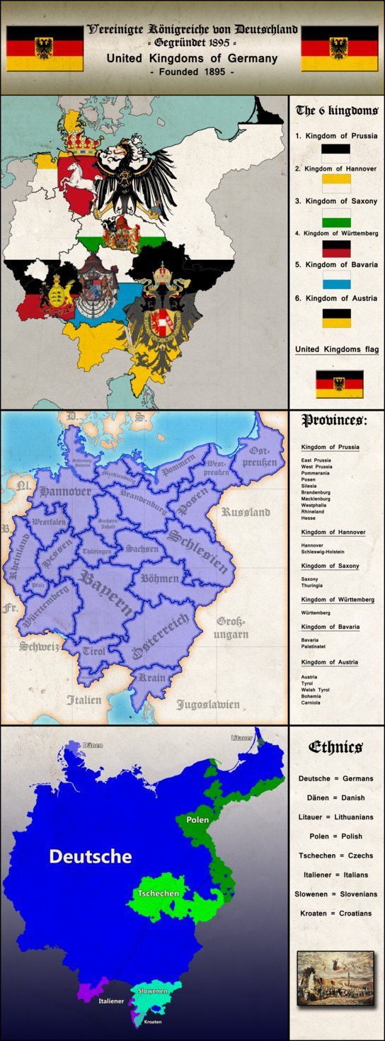 United kingdoms of Germany by Arminius1871 on