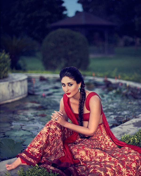 Kareena Kapoor in a beautiful Lehenga Saree