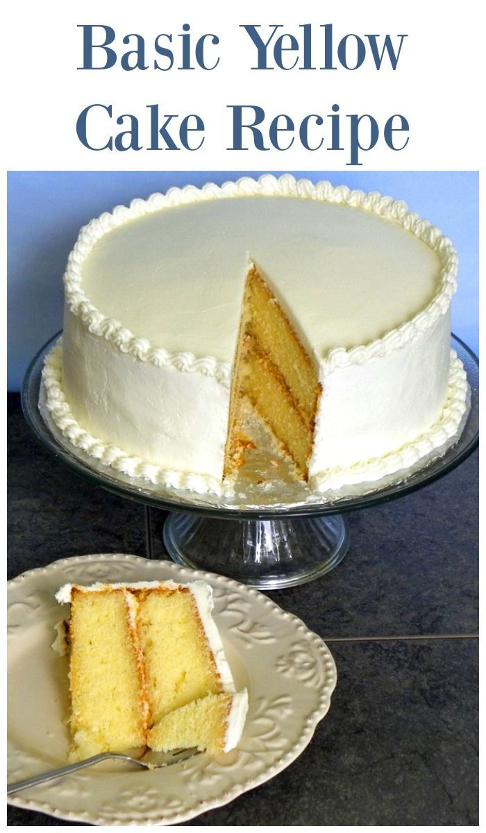 best 25 yellow cake recipes ideas on pinterest