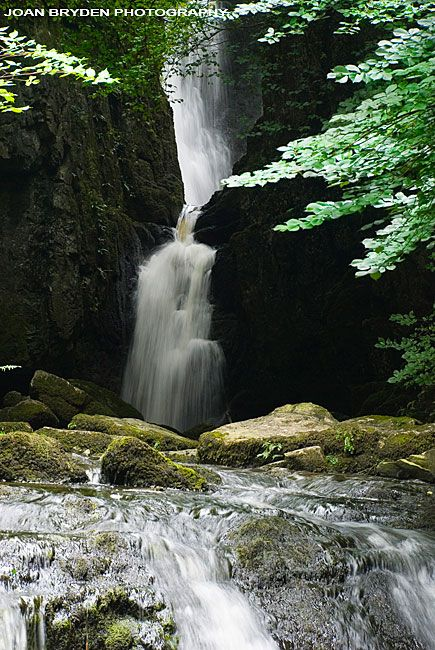 Catrigg Force: A waterfall near Stainforth in the Yorkshire Dales, North Yorkshire, England