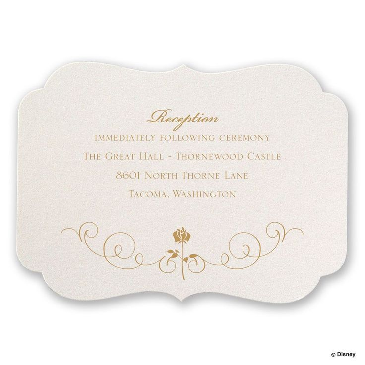 ideas about Reception Card on Pinterest Wedding receptions near me ...