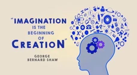 Imagination is beginning of creation