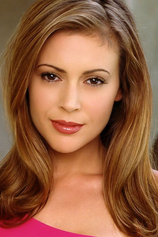 Alyssa Milano(Then and Now)