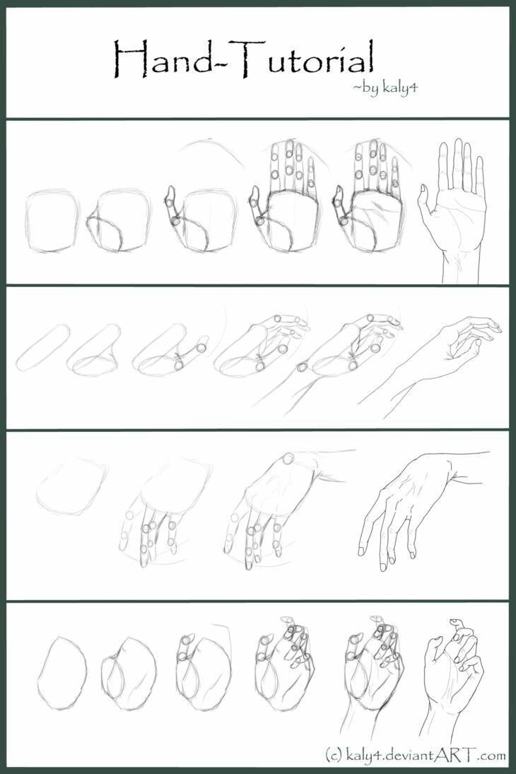 Pin By Olesya Vatamanyuk On Tutorial How To Draw Hands Pencil Drawings For Beginners Drawing For Beginners