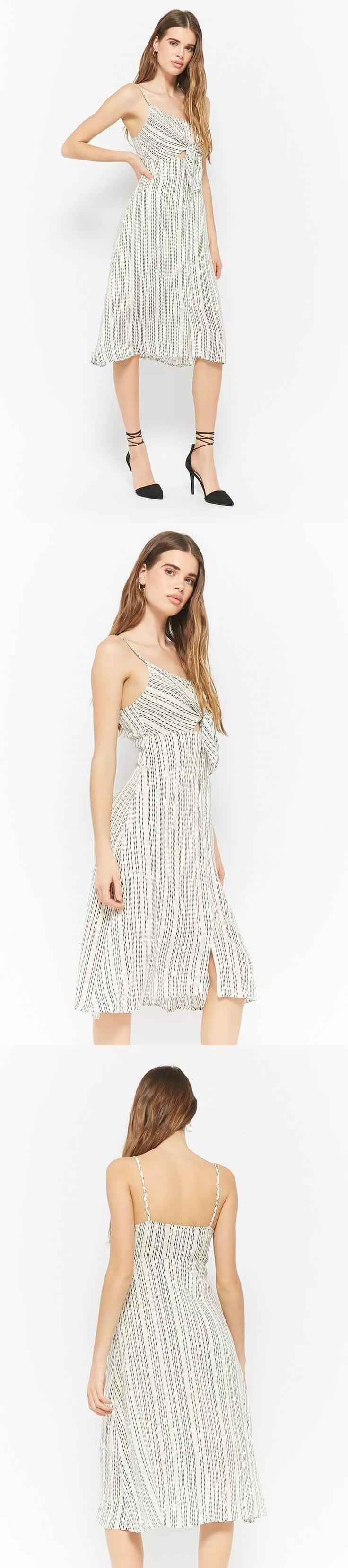 Striped Cami Dress // 48.00 USD // Forever 21