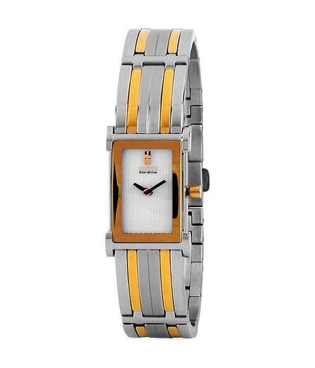 Citizen Rectangular Quartz Metal Watch
