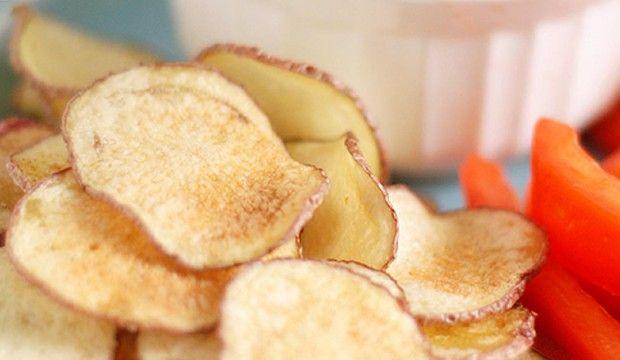 Snadné domácí chipsy bez oleje