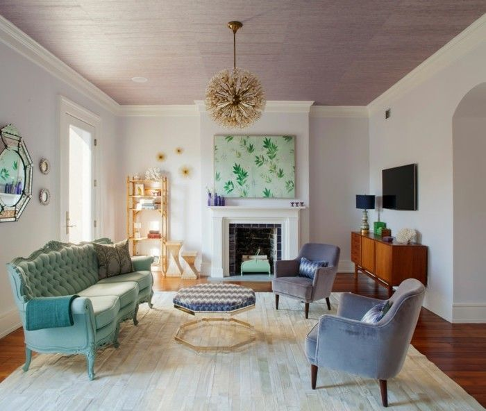 Amazing Wandbilder Wohnzimmer Ideen wie Sie die Wohnzimmerw nde mit Wandbildern dekorieren