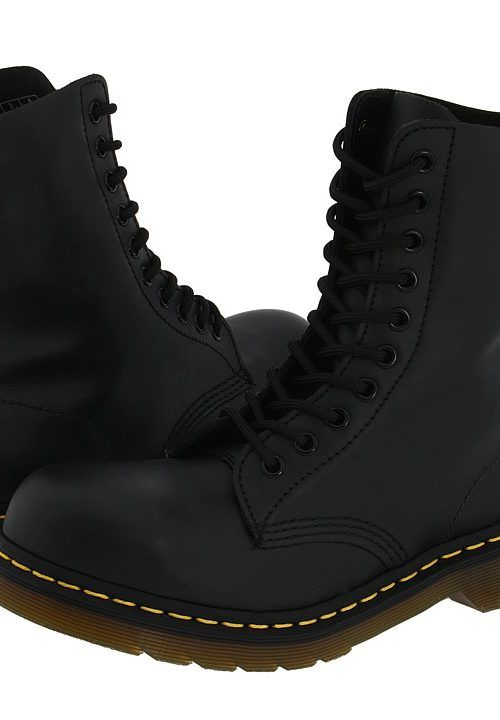Dr. Martens 1919 (Black Fine Haircell) Boots - Dr. Martens, 1919, 191911021, Women's Casual Boots, Above-the-ankle, Boot, Boot, Footwear, Shoes, Gift - Outfit Ideas And Street Style 2017