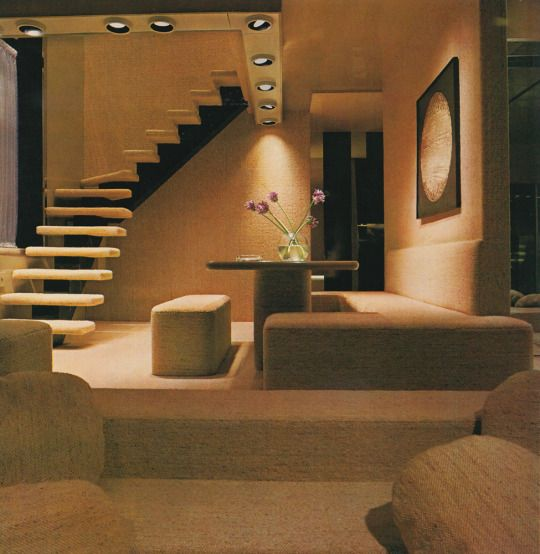 New York Apartments From The October 1978 Architectural Digest