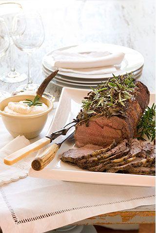 Seasoned Sirloin Beef | Allyson Gofton