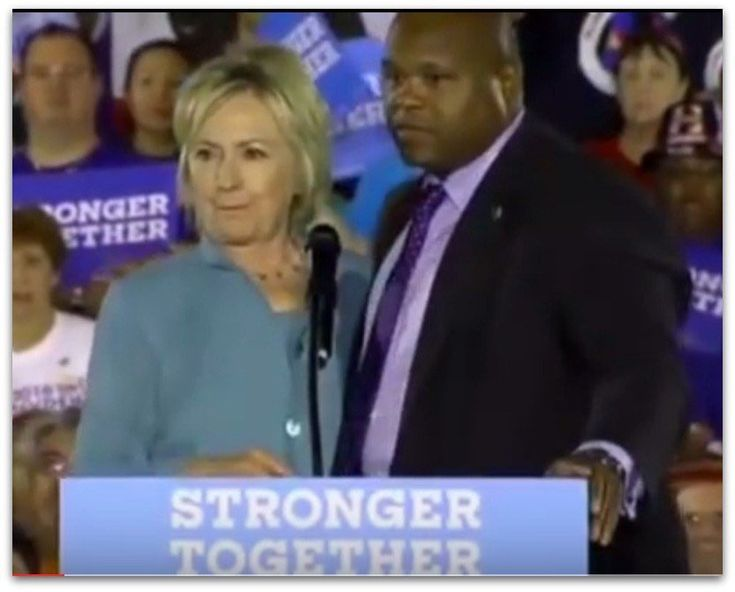 Hillary Clinton's mysterious handler has disappeared. In recent bizarre  events on the campaign trail a