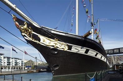Brunel's SS Great Britain in Bristol, UK - BRISTOL from Gloucester take M5, then A369, then B3129 - 1. Clifton Suspension Bridge 2. St. Mary Redcliffe Church on Colston Parade 3. Bristol Cathedral on College Green 4. S. S. Great Britain (old ship) - Mardyke