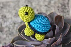 Schildkröte gehäkelt