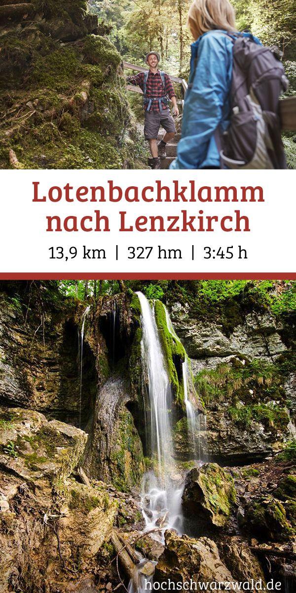 Von der Lotenbachklamm nach Lenzkirch