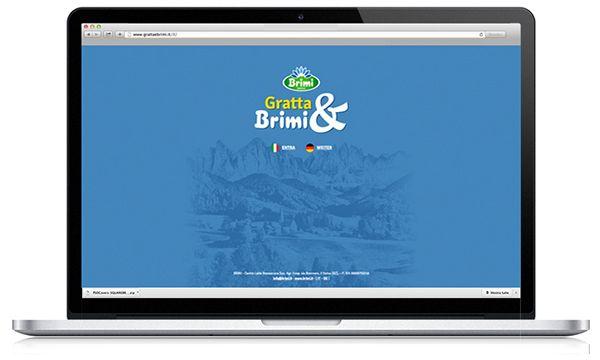 """Brimi, Centro Latte di Bressanone, produttore dell'unica mozzarella con latte 100% Alto Adige: campagna promozionale in doppia lingua per la In Store Promotion legata al concorso """"GrattaBrimi"""". SITO DEDICATO. #Brimi #madeinmilk #advertising #adv #POPAdvertising #Point-of-Purchase #POPDisplays #POPmarketing https://www.behance.net/gallery/18066879/Milk-adv-progetta-il-concorso-in-store-di-Brimi"""