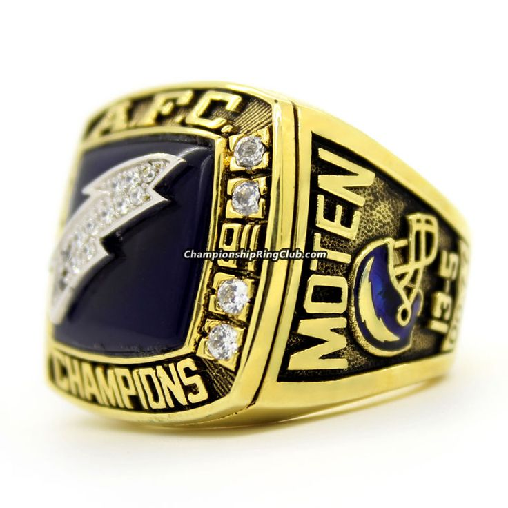 San Diego Chargers Fan Club: 76 Best AFC Championship Ring Images On Pinterest