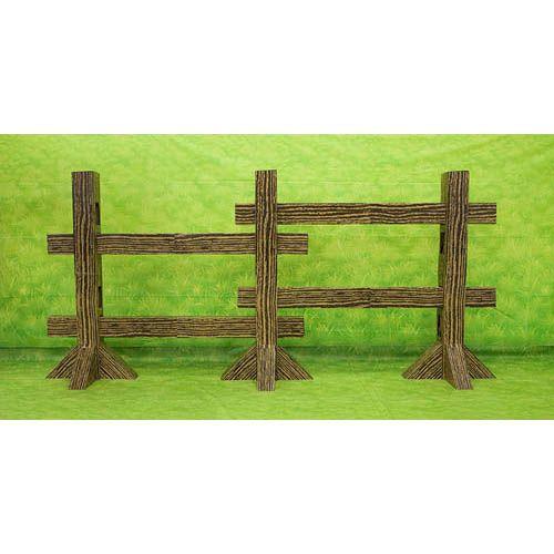 VBS-Barnyard Roundup-Split Rail Fence Post Set
