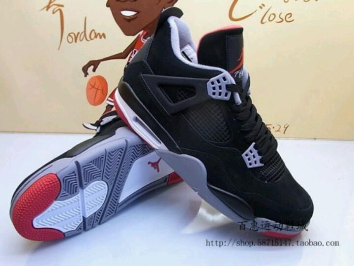 Black Cement 4's
