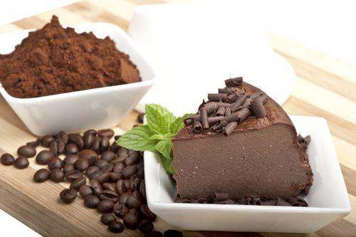 Kávový Cheesecake (tvarohový koláč)