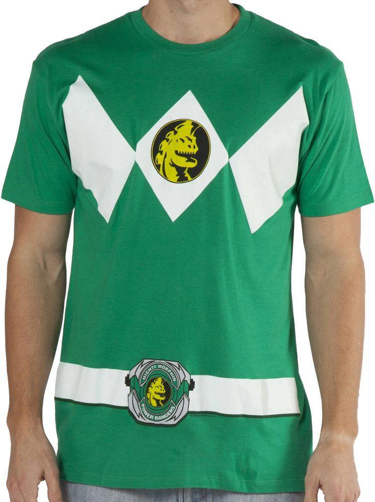 Green Ranger Costume T-Shirt