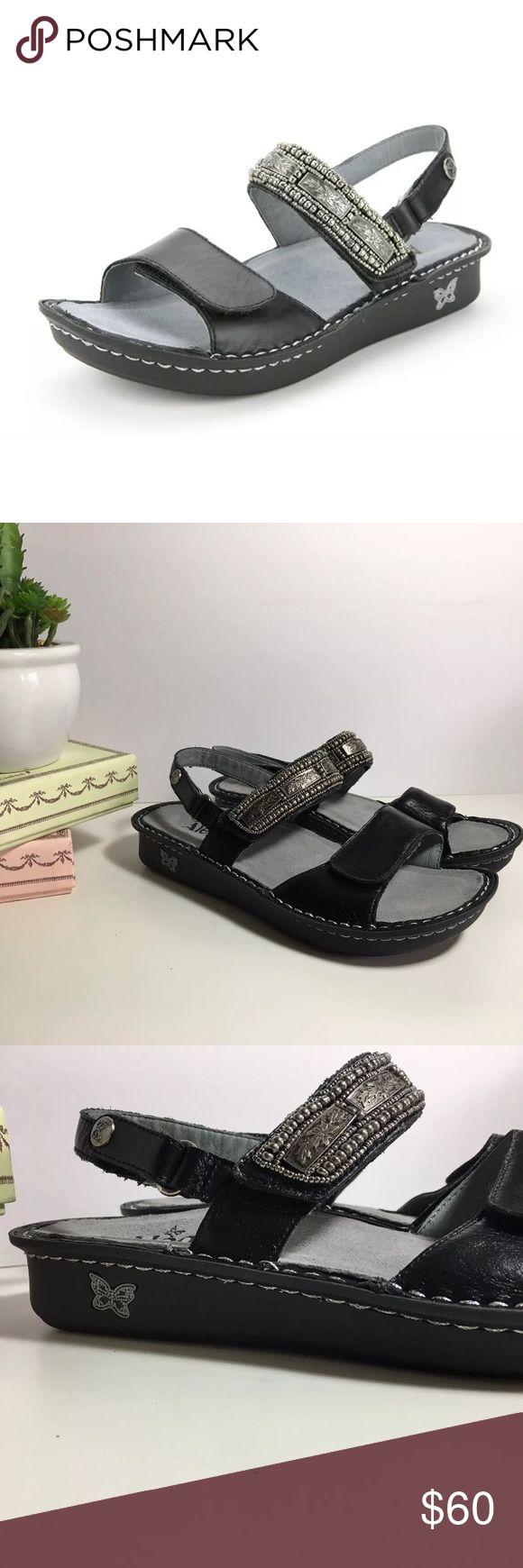 Alegria Verona Antique Pewter Sandals Sz 38 7.5/8 NWOT. never worn just tried on. Alegria Shoes Sandals