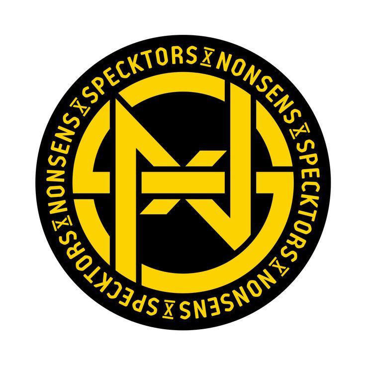SPECKTORS x NONSENS 'Speckno' logo design  www.totcph.com