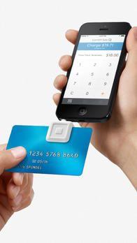 iPhone credit card reader