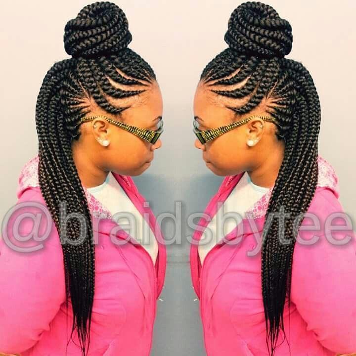 Ghana Weaving Ghana Braids Hairstyles Braided