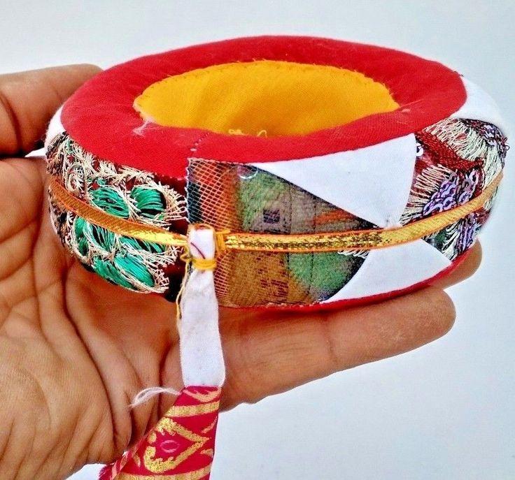 VINTAGE REFLECTION RAJASTHANI BEAUTIFUL COLORFUL CARRYING RING #Handmade