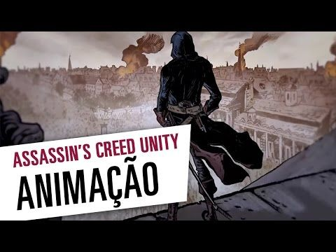 Assassin's Creed Unity - Animação da Comic-Con [Legendado]