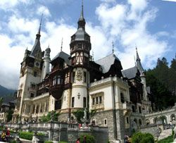 Sinaia, Romania / Peles Palace in Sinaia. Built by King Carol of Romania, this palace is beyond belief in its detail and scenery.