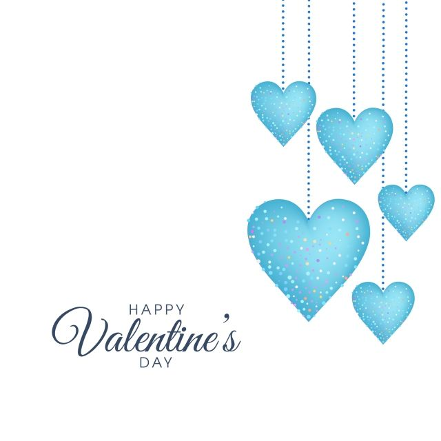 Valentine Day Blue Minimal Greeting Card Design Blue Heart Blue Love Design Valentine Card Design Png And Vector With Transparent Background For Free Downloa Valentines Card Design Greeting Card Design Happy