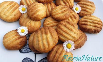 RécréaNature: Mes Biscuits Faits Maison au Tahin Semi-complet