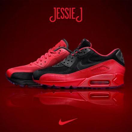 JESSIE J × NIKE AIR MAX 90 PACK #sneaker