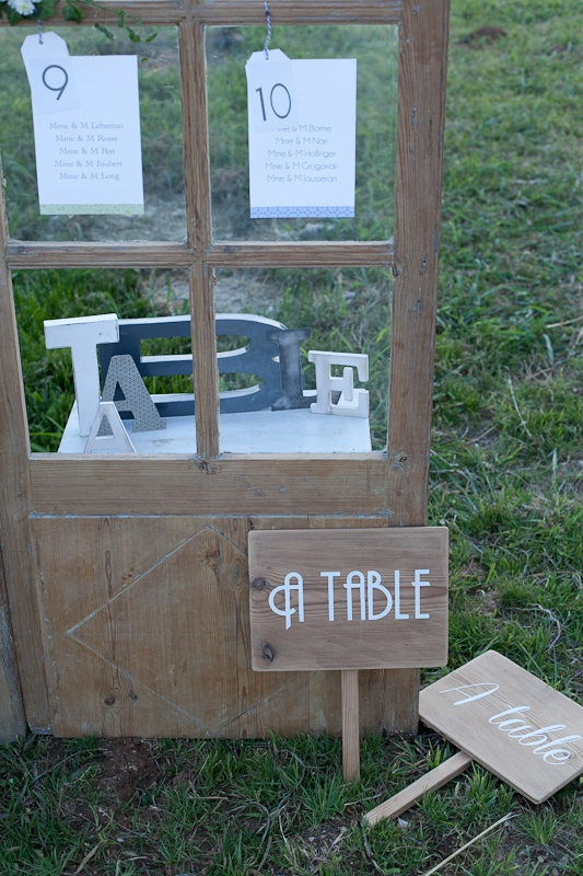 A table plan de table